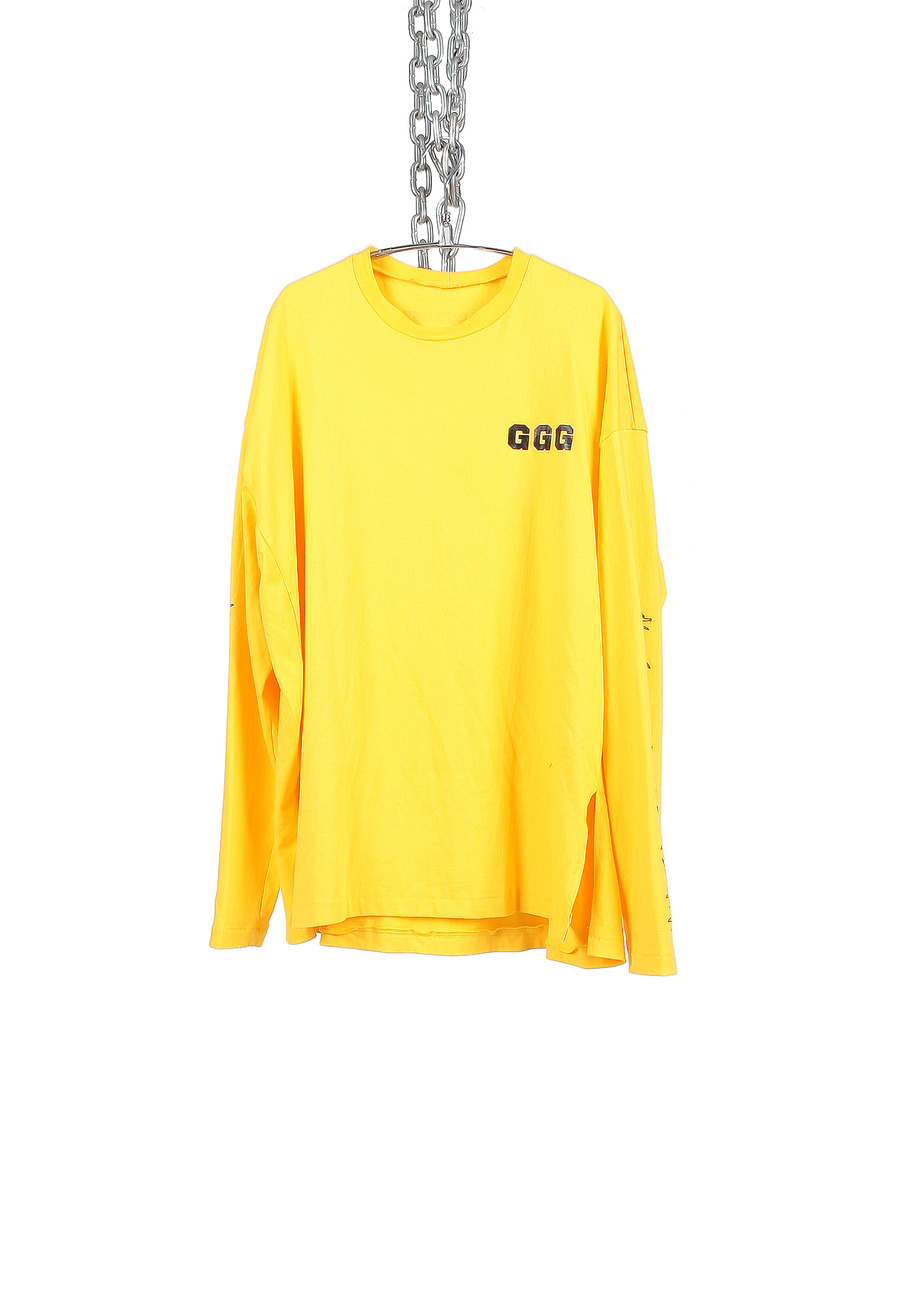 YELLOW GGG LONG SHIRTS