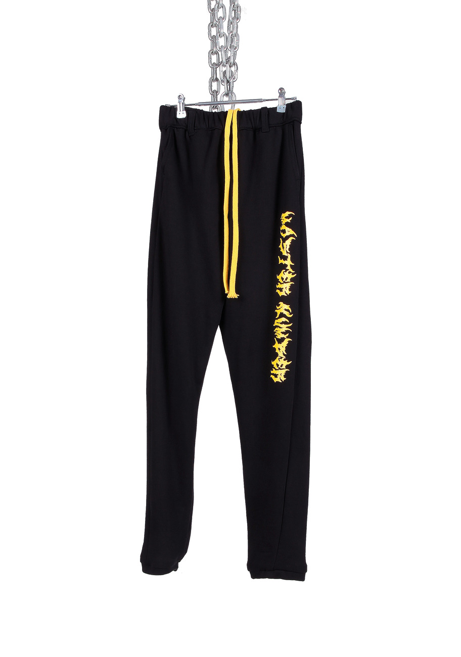 BLACK MASTER NUMBER JOGGER PANTS