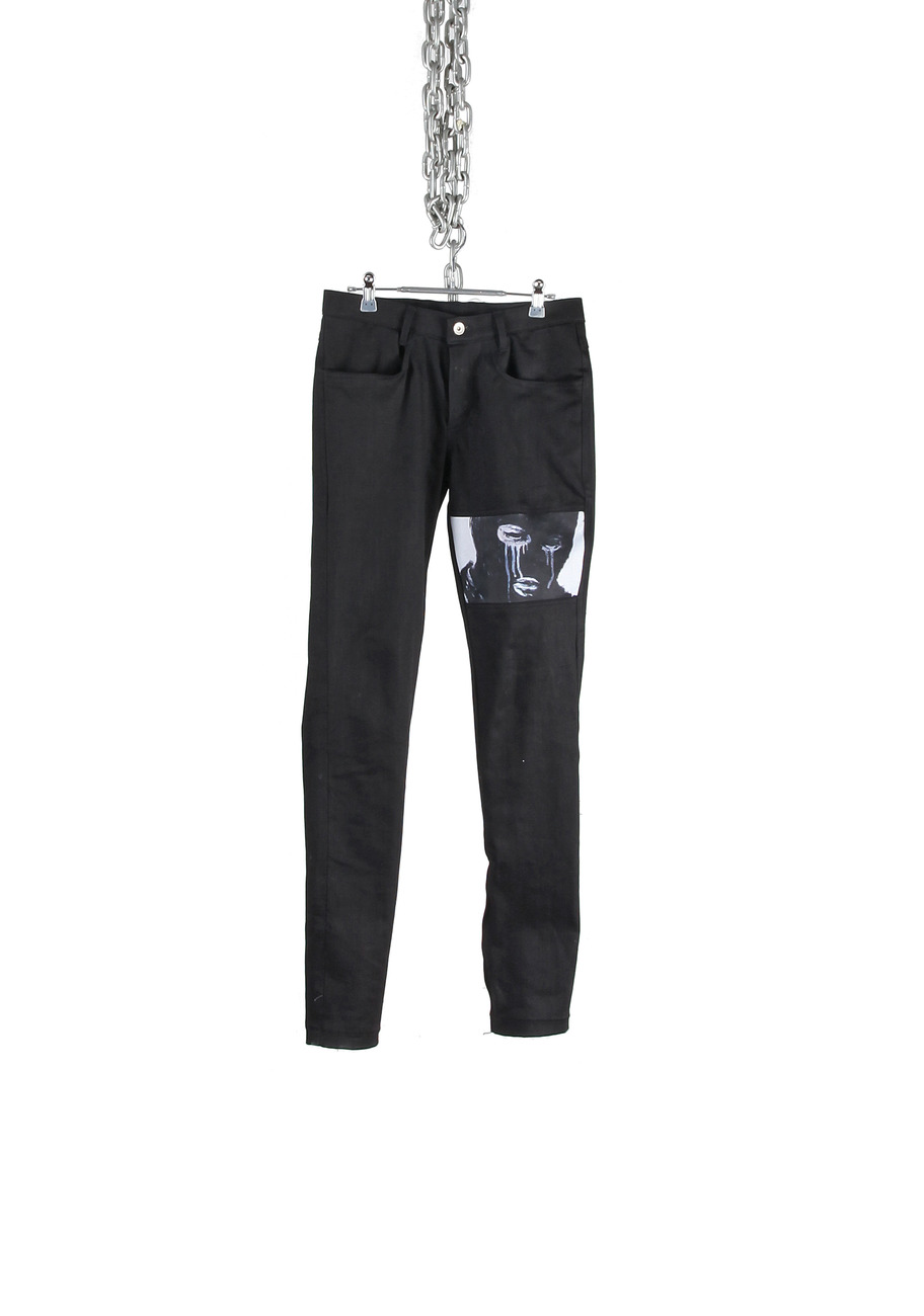 IMAGE PATCHWORK PANTS